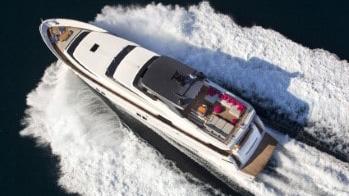 105 San Lorenzo luxury yacht