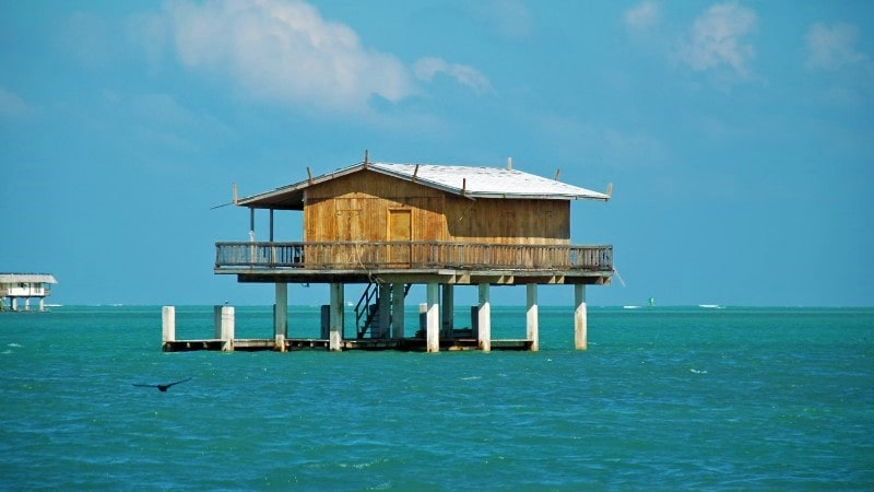yacht rental to Stiltsville