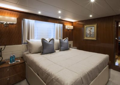 116 Hargrave yacht VIP stateroom