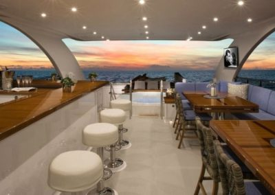 116 Hargrave yacht outdoor bar