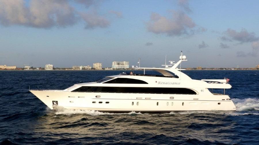 116 Hargrave Miami rental yacht
