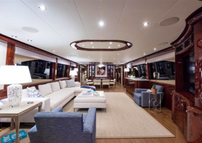 116' Lazzara yacht luxury interior