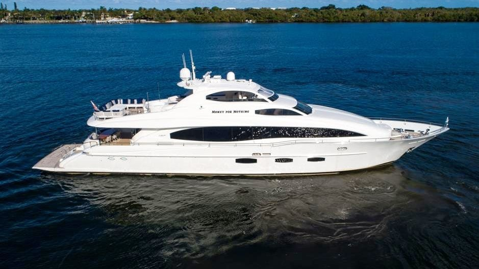 116' Lazzara luxury Miami yacht