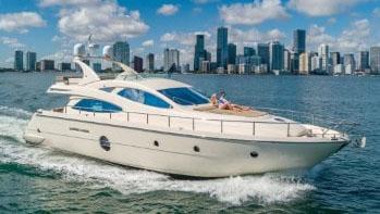 69' Aicon motor yacht