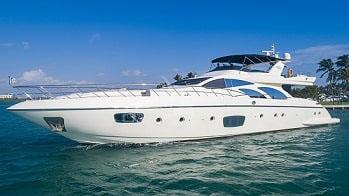 100' Azimut luxury yacht