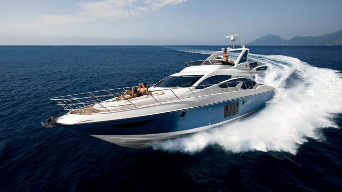 64' Azimut motor yacht