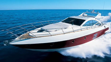 68' Azimut sport yacht