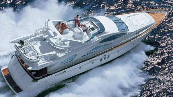 80 Azimut motor yacht