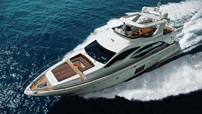84 Azimut motor yacht