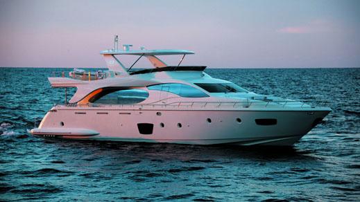 85 Azimut motor yacht