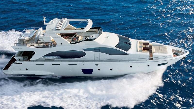 85' Azimut motor yacht