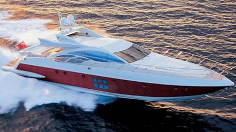 86 Azimut sport yacht