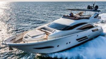 80' Dominator motor yacht