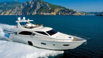 75' Ferretti motor yacht