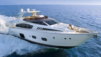 81' Ferretti motor yacht