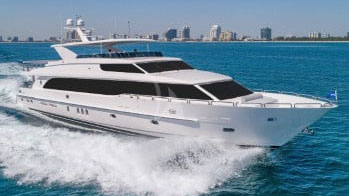100 Hargrave luxury yacht