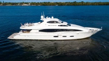 116 Lazzara luxury yacht