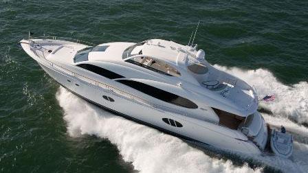 84' Lazzara motor yacht