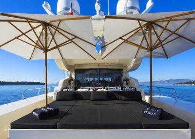 101 Leopard yachtaft sunpads