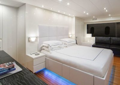 101 Leopard yacht master stateroom