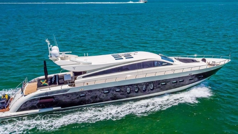 101 leopard luxury Miami yacht