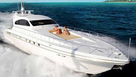 80' Leopard sport yacht