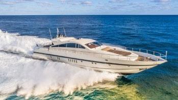 90 Leopard sport yacht