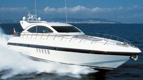 72' Mangusta sport yacht