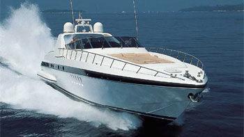 80' Mangusta sport yacht