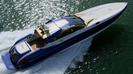80' Nortech sport yacht