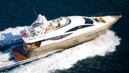 78' Numarine motor yacht