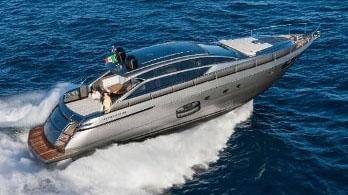 62' Pershing sport yacht