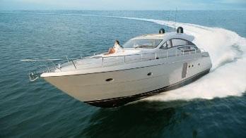 72' Pershing sport yacht