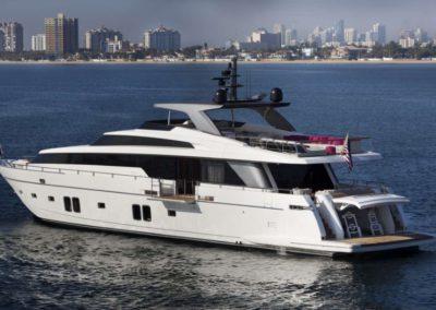 106 San Lorenzo yacht in Miami