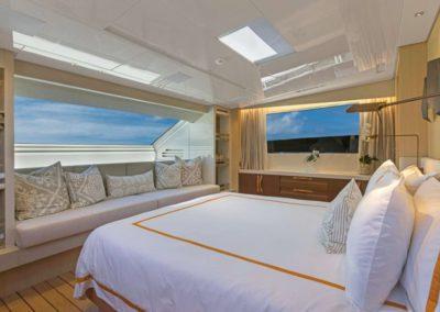 106 San Lorenzo yacht master stateroom