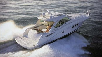 48' Searay sport yacht