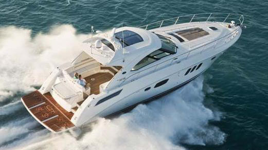 54' Searay sport yacht