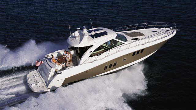 60' Searay sport yacht