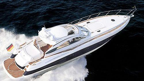 60' Sunseeker sport yacht