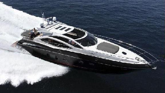 64' Sunseeker sport yacht