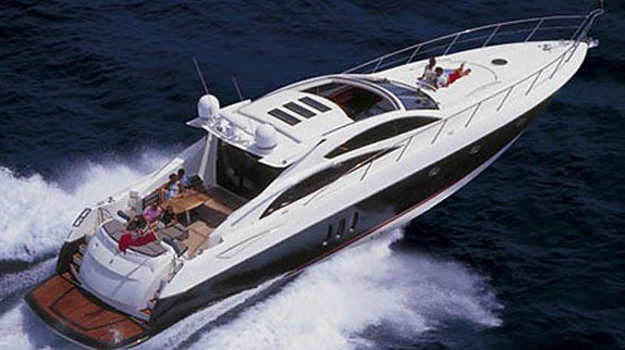 72' Sunseeker sport yacht