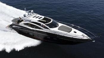 74' Sunseeker sport yacht