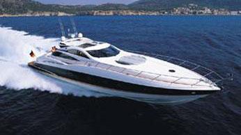 75' Sunseeker sport yacht