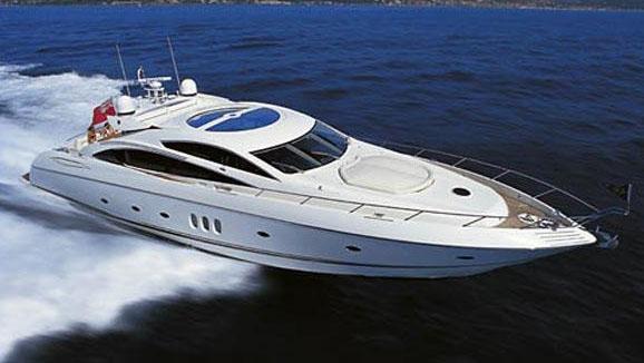 82' Sunseeker sport yacht