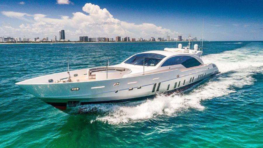 2011 120' Tecnomar Miami yacht