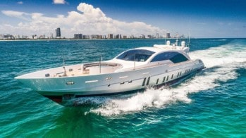 120 Tecnomar luxury yacht