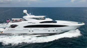 120 Trinity luxury yacht