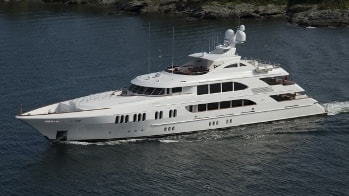 164 Trinity luxury yacht