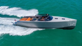 40' Vandutch sport yacht