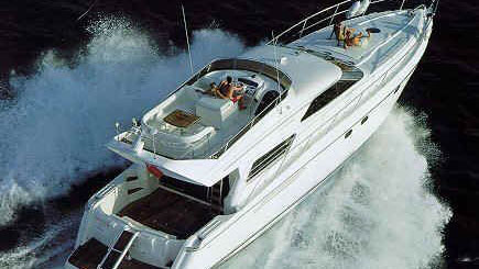 60' Viking motor yacht